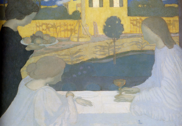Maurice Denis Mary and Martha